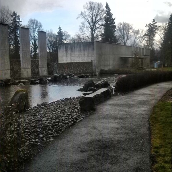 Willamette River Water Treatment Plant Park